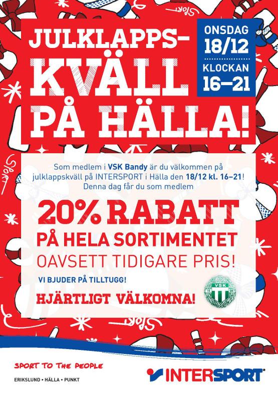Inbjudan_Julklappskväll VSK Bandy 555