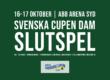 Slutspelet i Svenska Cupen avgörs i Västerås | Fri entré för alla